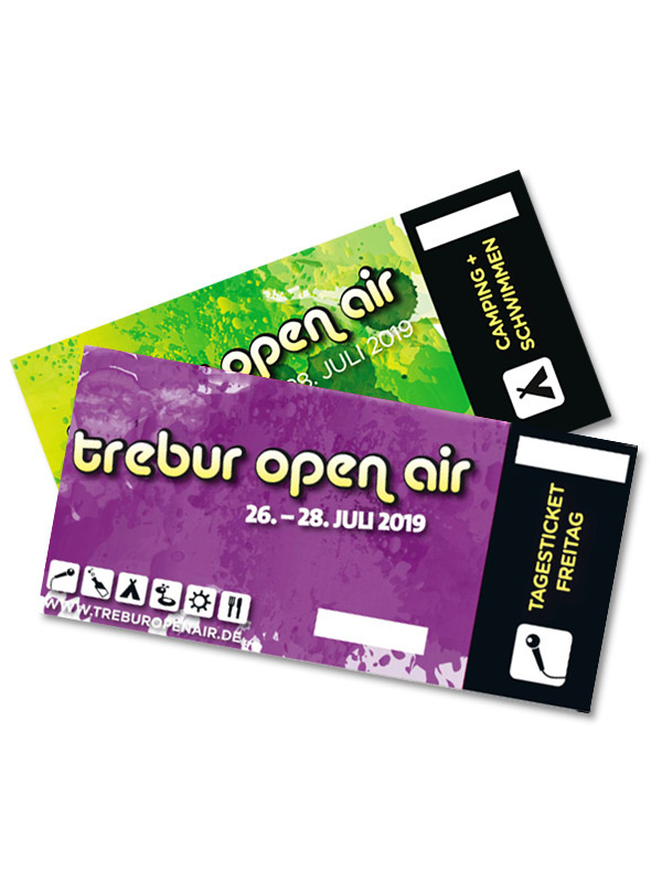 Tagesticket + Camping - Freitag  -