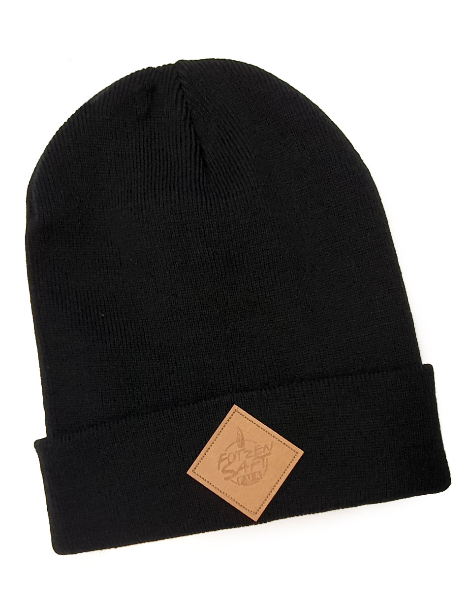Fotzensaft Cuffed Beanie Logopatch