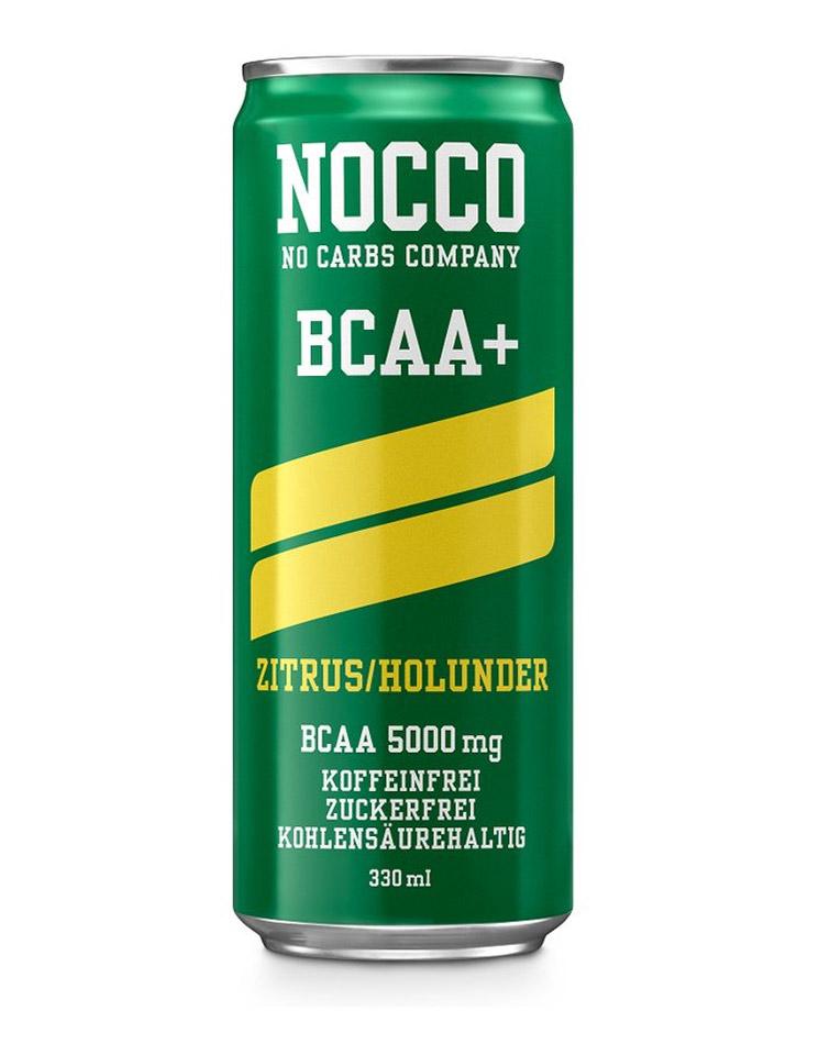 NOCCO BCAA+ Zitrus Holunder