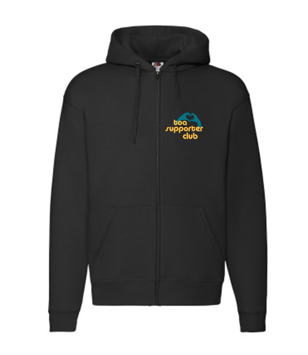 Toa Supporter Club Unisex Zipper Hoodie