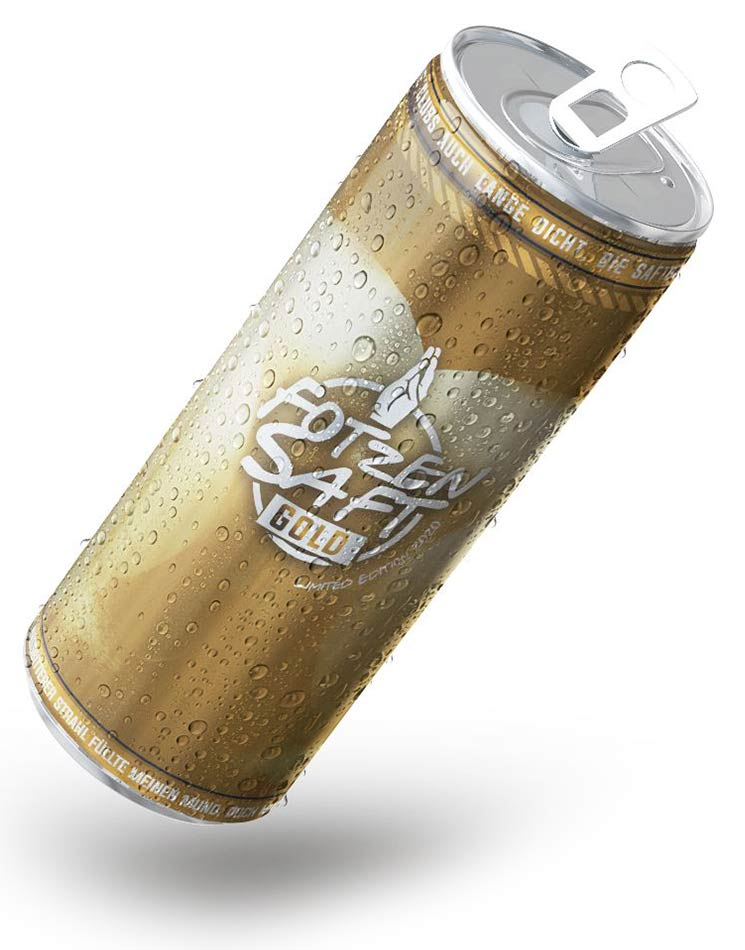 Fotzensaft Gold Energy - Limited Edition Dose
