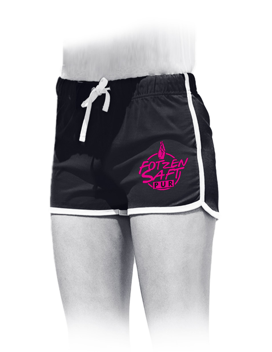 Fotzensaft pur Womens Retro Shorts