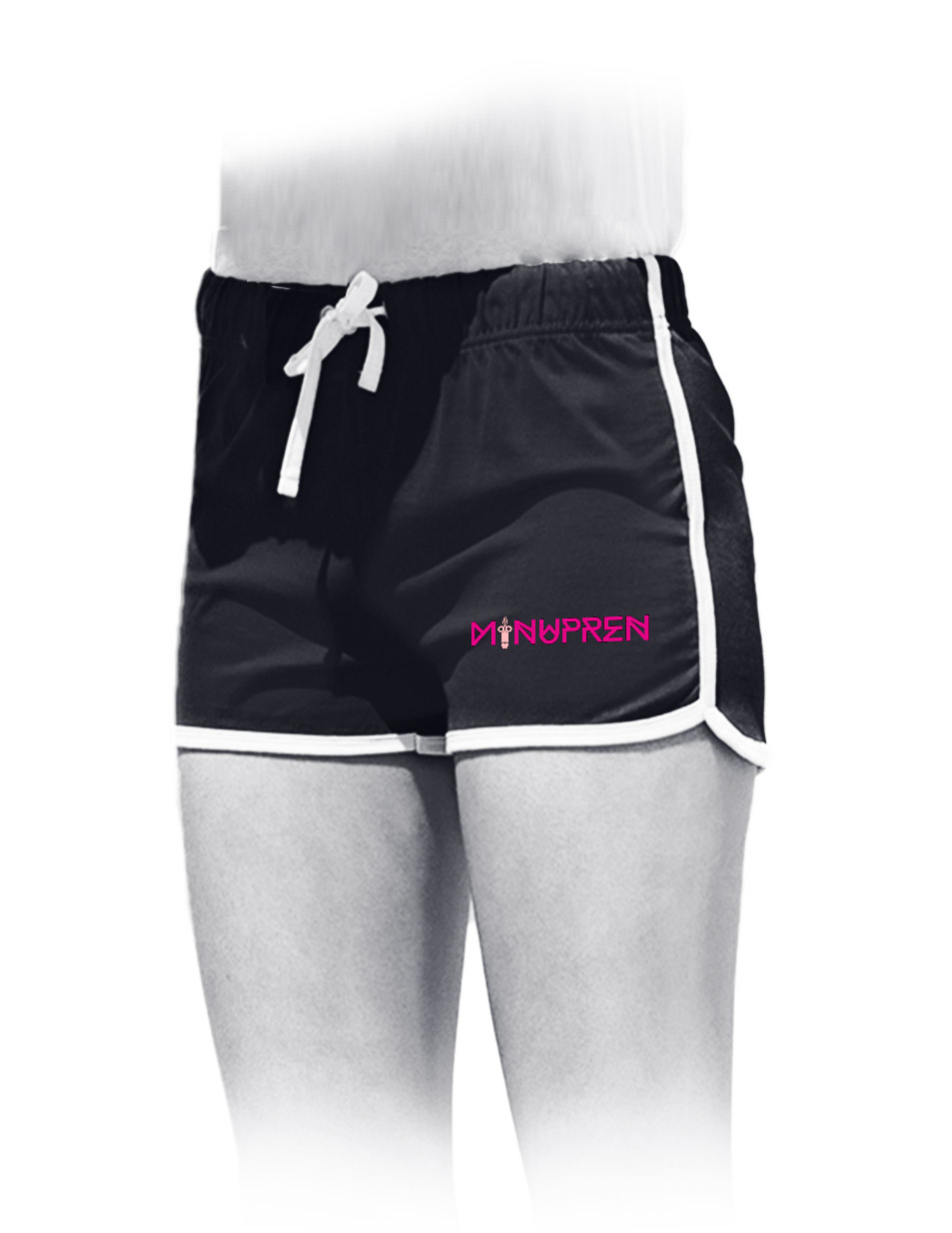 Minupren Womens Retro Shorts