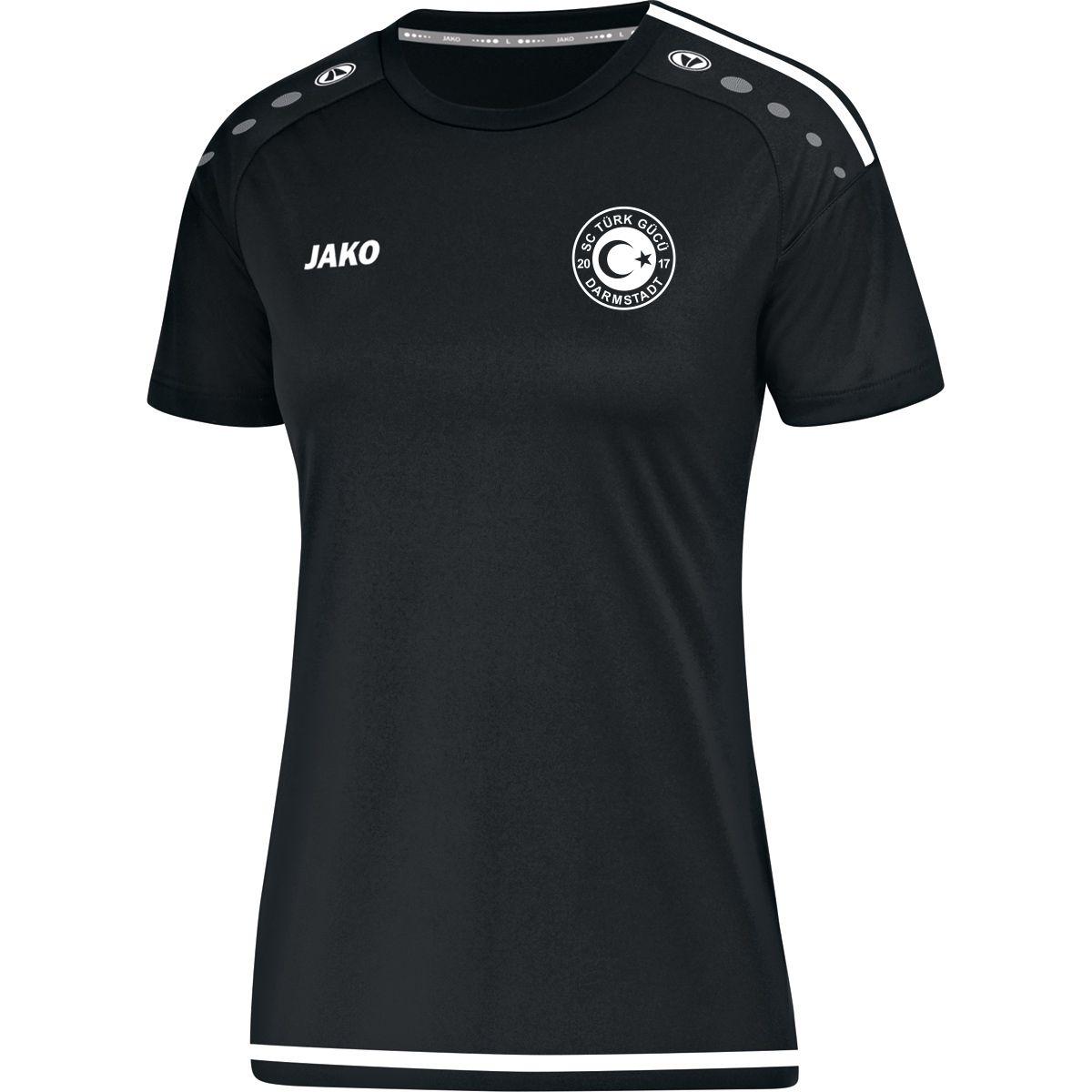 T-Shirt Striker Damen Druck weiß