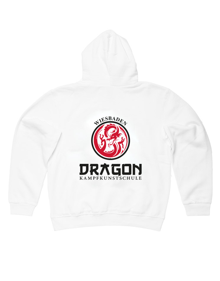 Dragon Hooded Sweat Pullover Wiesbaden weiß - Wiesbaden