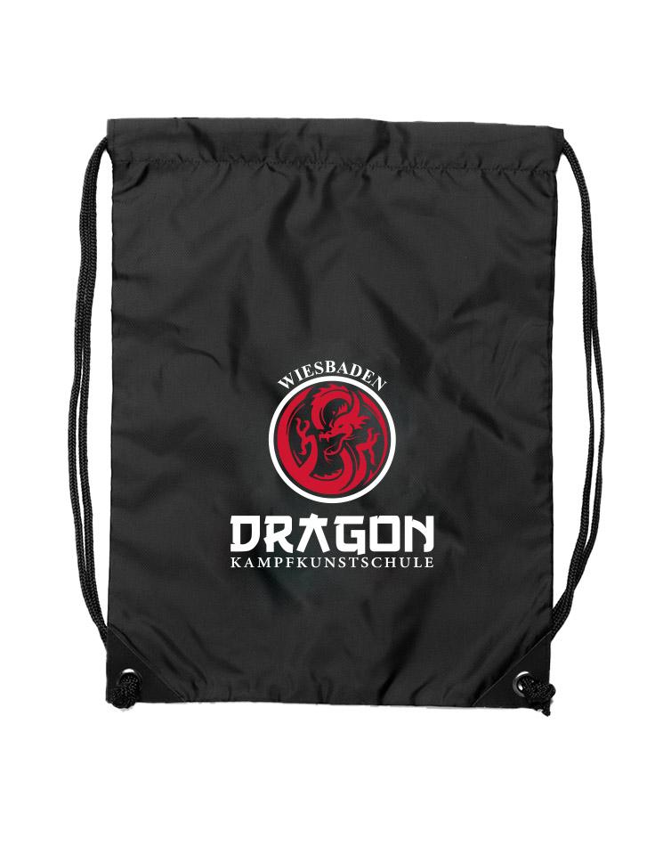 Dragon Premium Gymsac Wiesbaden schwarz - Wiesbaden