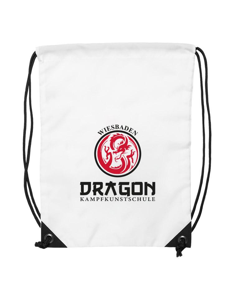 Dragon Premium Gymsac Wiesbaden weiß - Wiesbaden