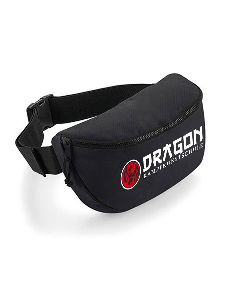 Oversized Belt Bag mehrfarbig auf schwarz