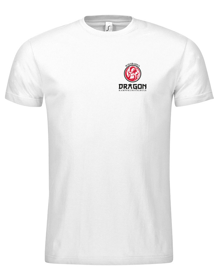 Dragon T-Shirt Wiesbaden weiß - Wiesbaden