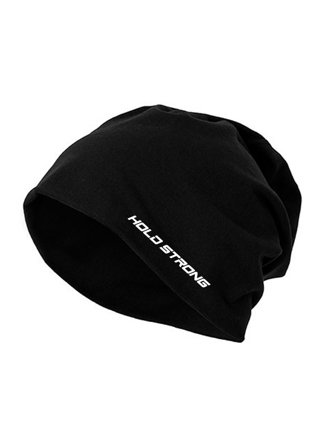 HOLD STRONG Fitness Slouch Beanie