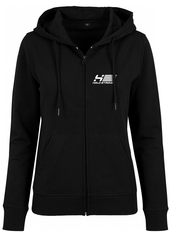 HOLD STRONG Fitness Zip Hoodie Women