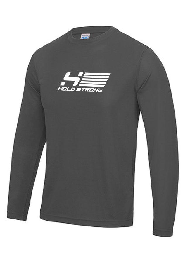 HOLD STRONG Fitness Athlete Longsleeve Men