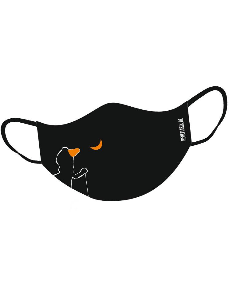 Jemand ze Hage Deluxe Mund-Nasen-Maske