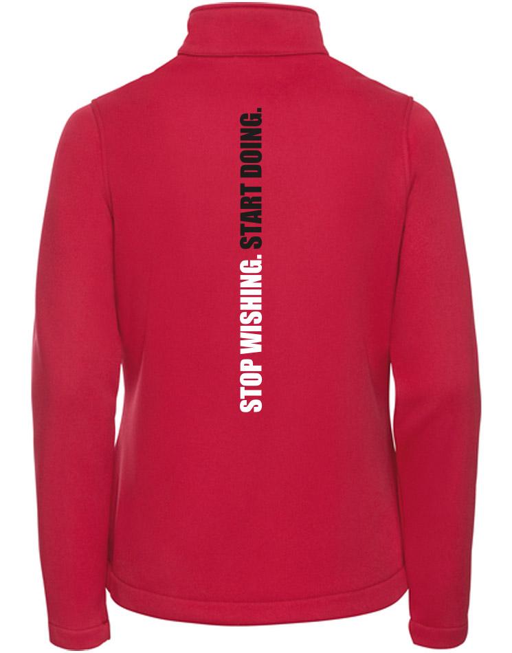 CrossFit Wuppertal Stop Wishing Start Doing Softshell Jacket Women