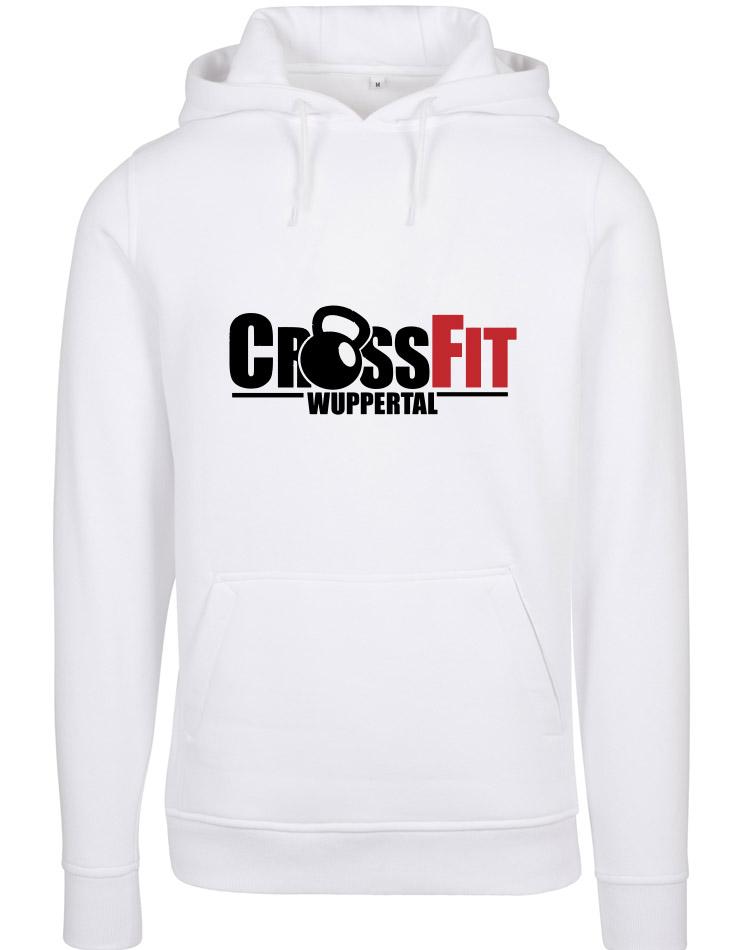 CrossFit Wuppertal Stop Wishing Start Doing Hoodie Men mehrfarbig auf weiss