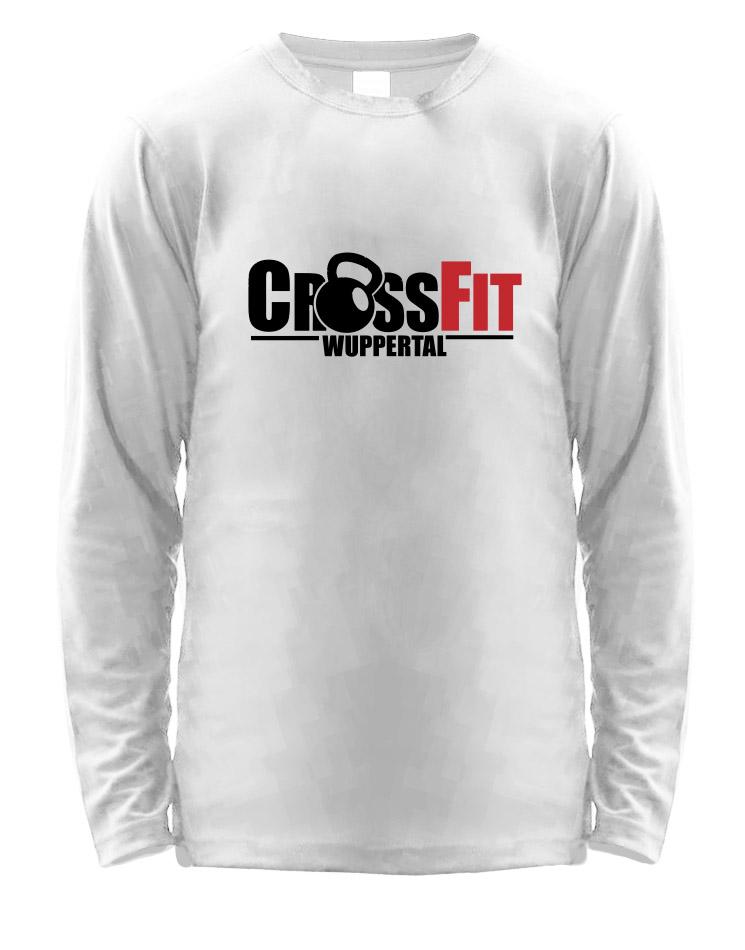 CrossFit Wuppertal Stop Wishing Start Doing Longsleeve Men mehrfarbig auf weiss