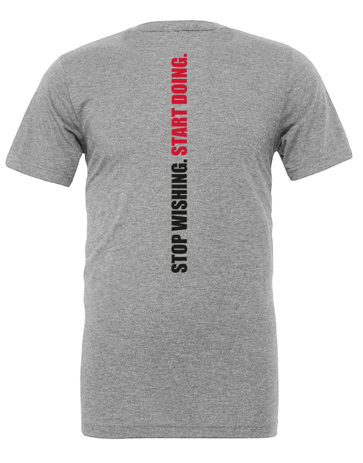 CrossFit Wuppertal Stop Wishing Start Doing Unisex T-Shirt
